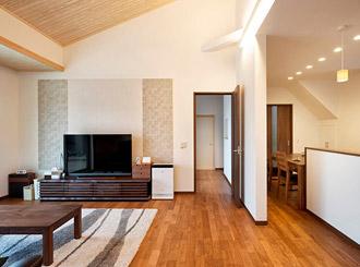 暖かく、空気もきれい 家族が健康に過ごせる家